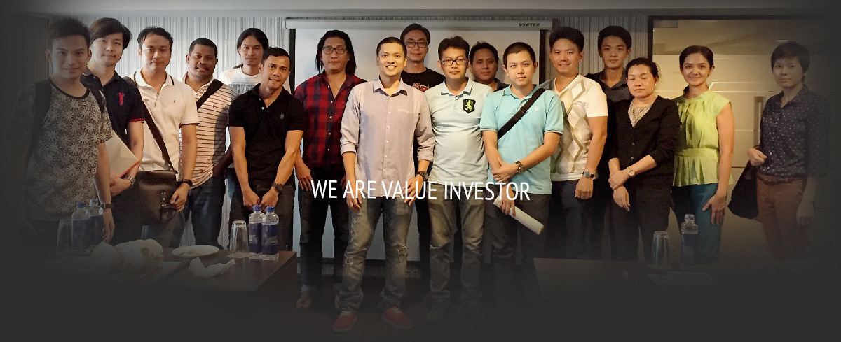 We 're value investor